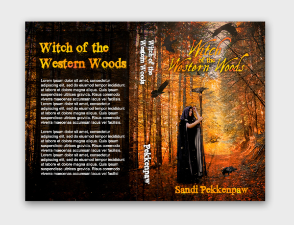 Book cover Witch of the western woods