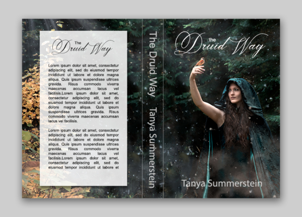 Book cover concepts  the druid way